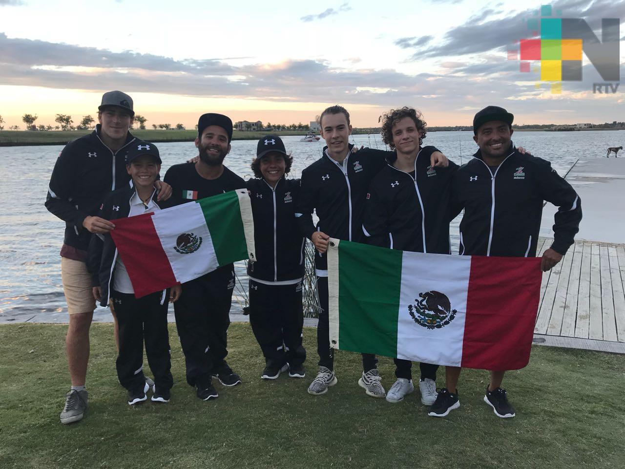 México consigue medalla histórica en wakeboard
