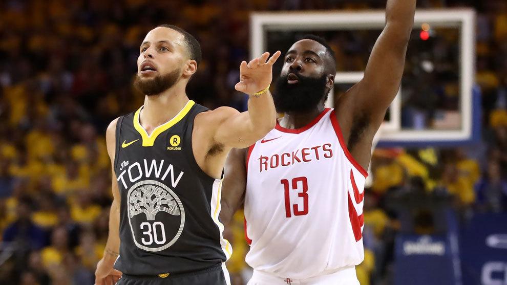 Rockets gana a Warriors y pone 2-2 serie final Oeste de la NBA