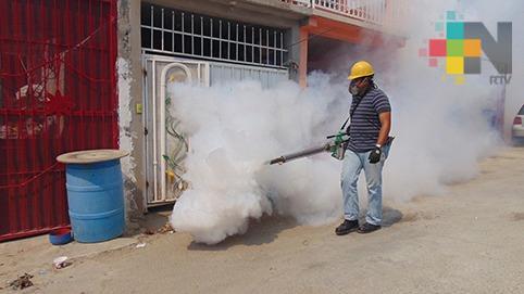 Inicia Jurisdicción Sanitaria trabajos de fumigación en demarcación de Tuxpan
