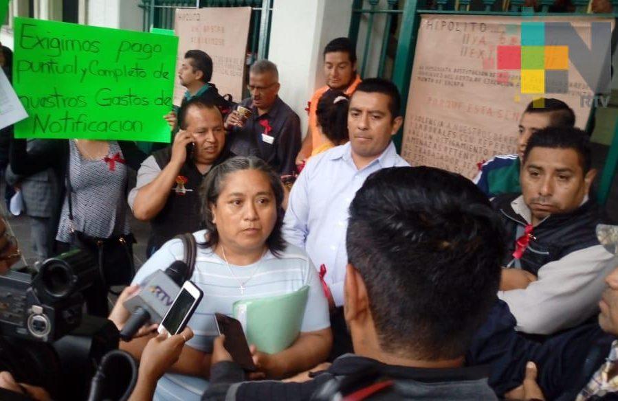 Inicia semana con manifestaciones contra el ayuntamiento de Xalapa