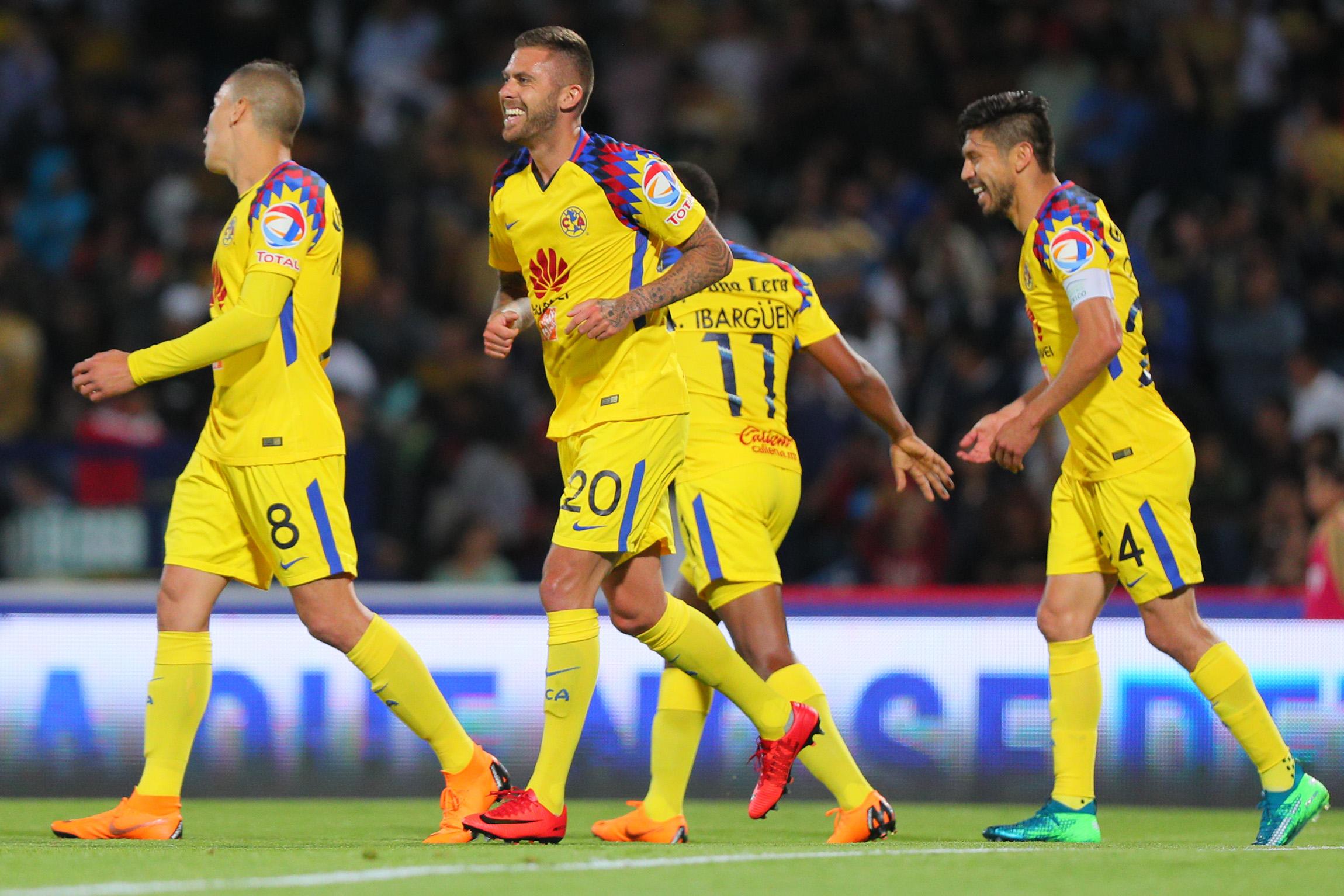 Santos exhibe al América 4-1 en ida de semifinales de Clausura 2018