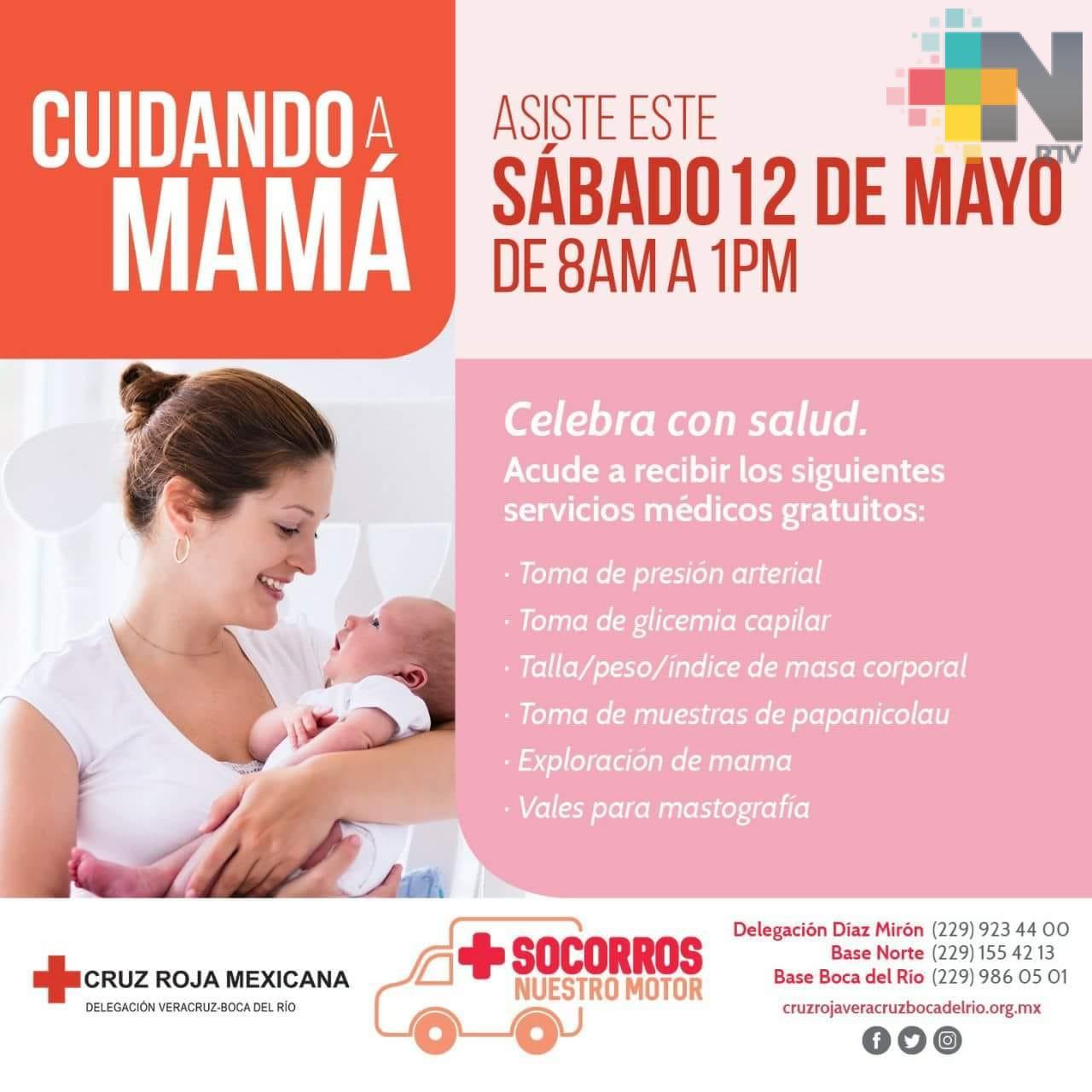 Cruz Roja Mexicana realizará jornada médica gratuita para mujeres en Veracruz puerto