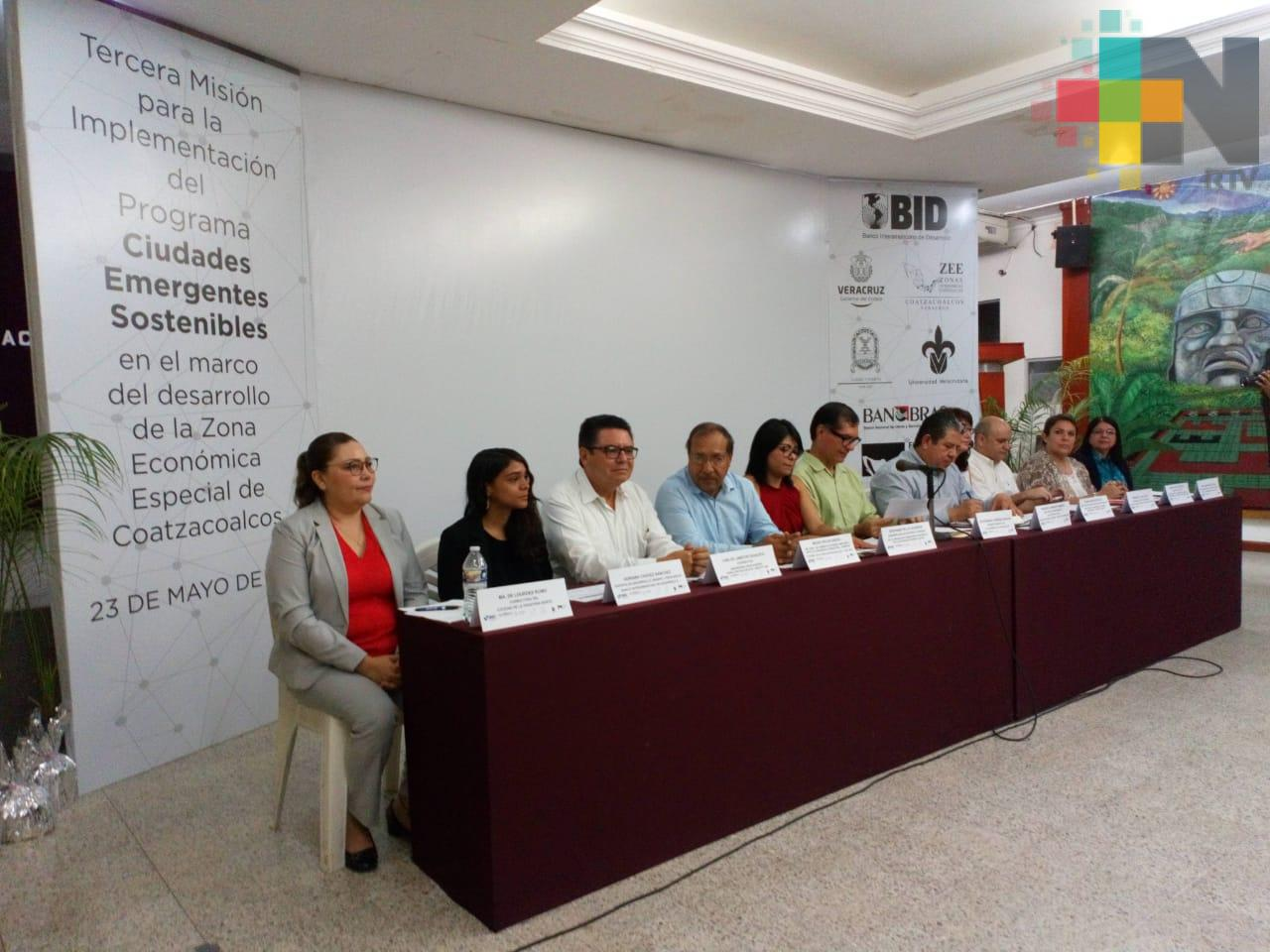 Realizan tercera misión para convertir a Coatzacoalcos en ciudad emergente sostenible