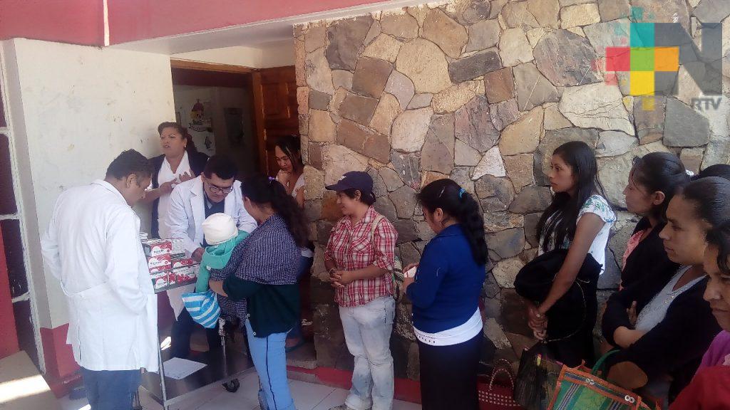 Inicia campaña permanente de salud en Zacualpan