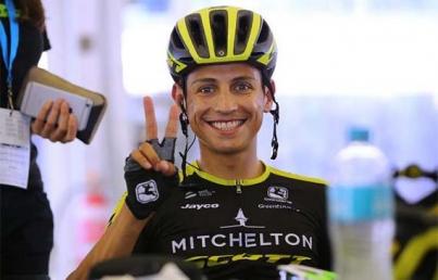 Ciclista Esteban Chaves y Colombia centran miradas en el Giro de Italia