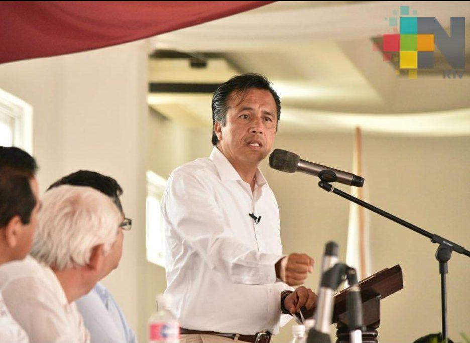 Buscaremos la reconciliación del pueblo de Veracruz sin importar ideología política: Cuitláhuac García