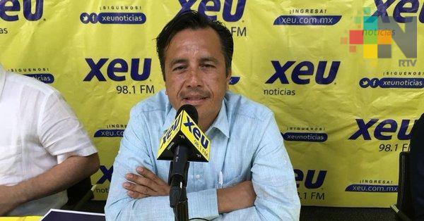 Propone Cuitláhuac García Programa Integral de Seguridad