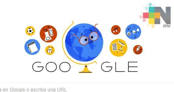 Google celebra Día del Maestro en México