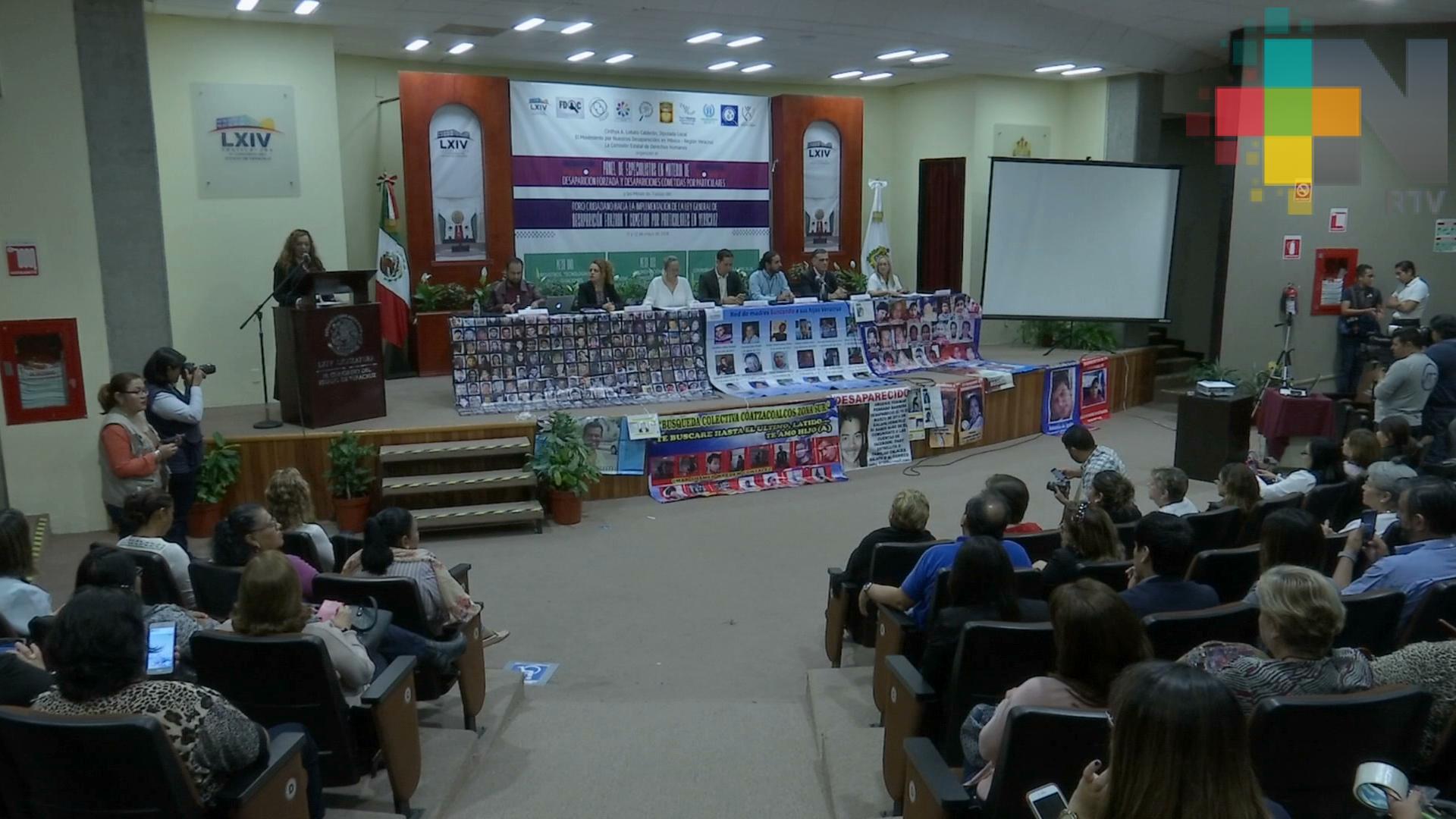 Reconoce Jorge Verástegui González voluntad política de Veracruz en castigar a exfuncionarios por desapariciones forzadas