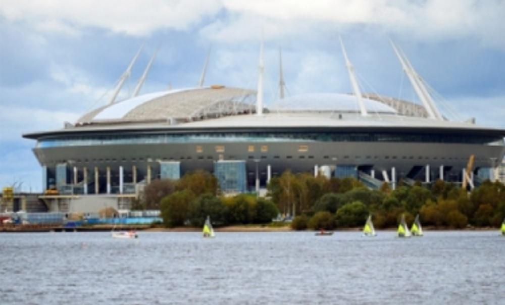 Estadio de San Petersburgo, coloso a la orden del Mundial Rusia 2018