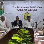 Veracruz es garante la participación libre y pacífica de electores y actores políticos