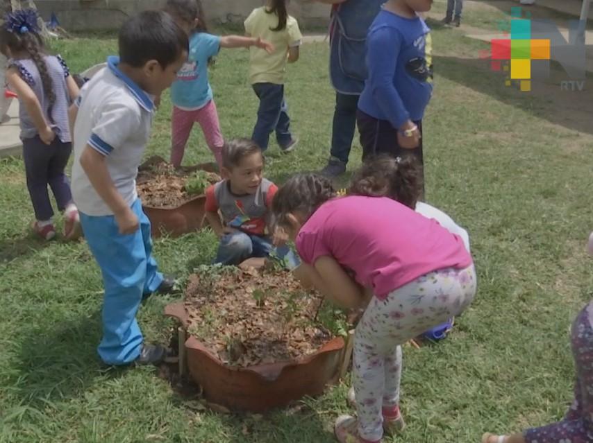 Proponen creación de huertos escolares en Veracruz