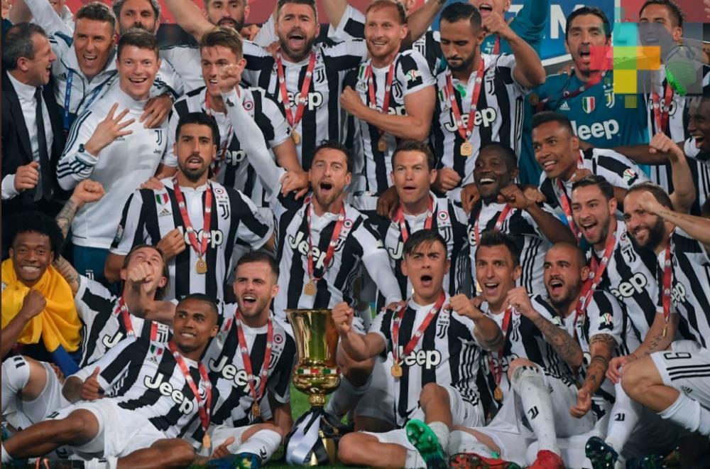 Juventus se consagra campeón de la Copa Italiana en el Olímpico de Roma