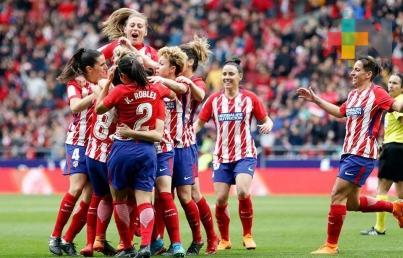 Mexicana Kenti Robles y Atlético de Madrid logran título en España