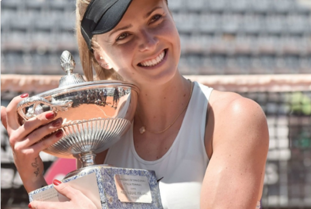 Elina Svitolina gana Masters de Roma por segundo año consecutivo