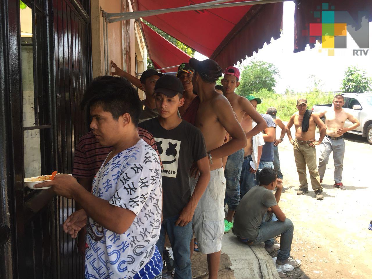 Migrantes no reportan agresiones en su paso por Veracruz, aseguran autoridades de Coatzacoalcos