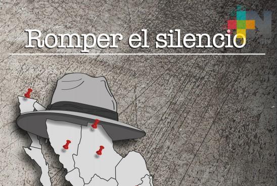"""Periodista Emiliano Ruiz Parra presentará el libro """"Romper el silencio"""""""
