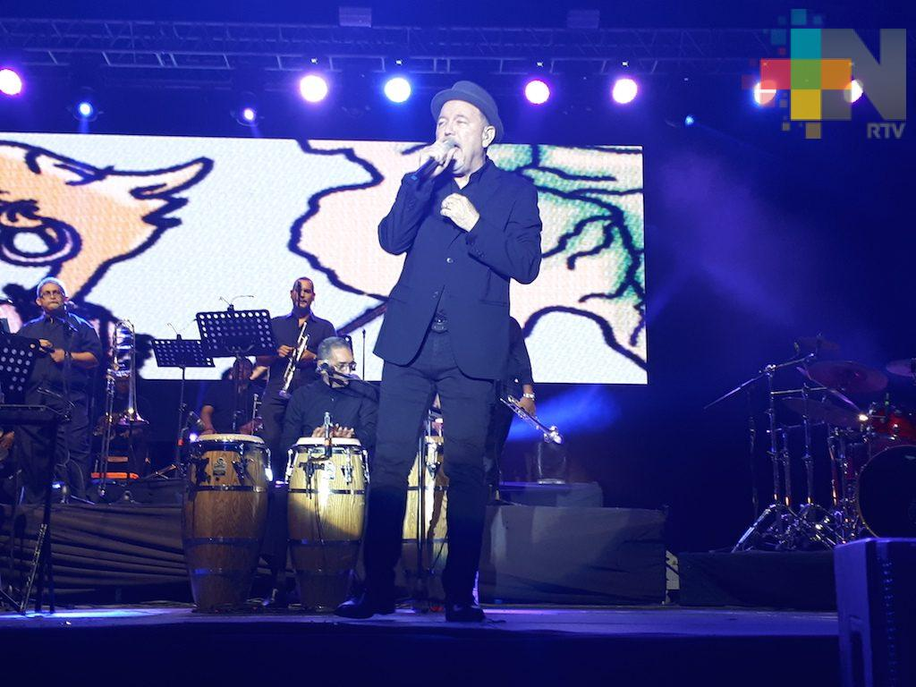 Rubén Blades conquistó al público veracruzano