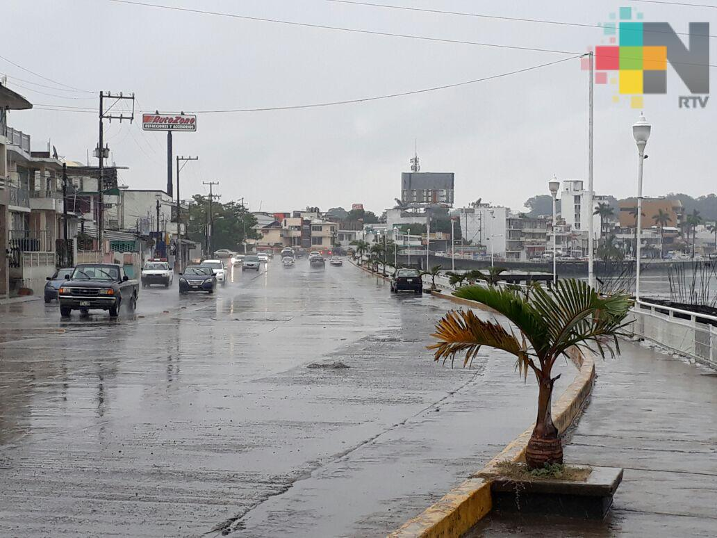 Se esperan lluvias moderadas a fuertes en la entidad veracruzana