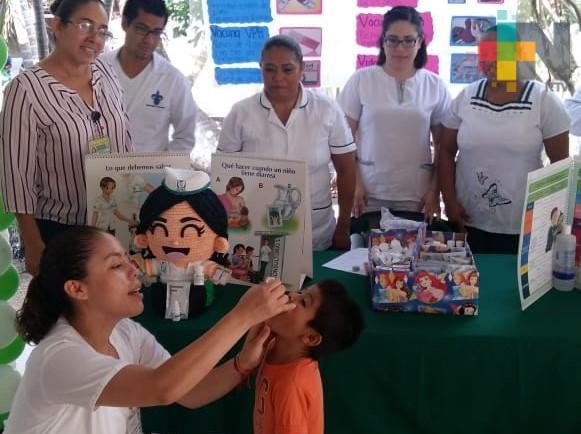 Tercera Semana Nacional de Vacunación del 13 al 19 de octubre