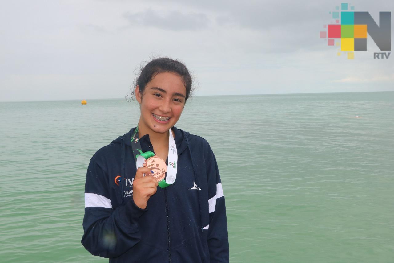 Veracruz gana bronce en triatlón