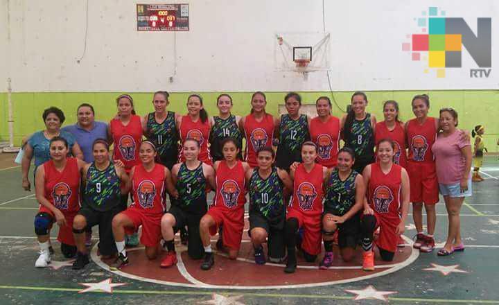 Realizaron torneo femenil de basquetbol en Coatzacoalcos