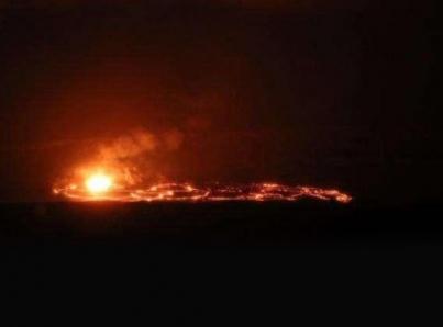Potente explosión del Kilauea alcanza nueve kilómetros de alto