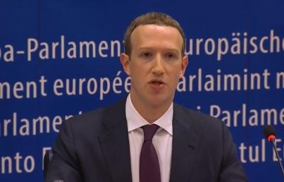 Zuckerberg pide perdón a Eurocámara por mal uso de datos de Facebook