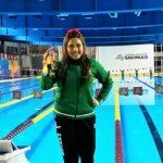 Matilde Alcázar rompe récord de 34 años en serie mundial de para-natación