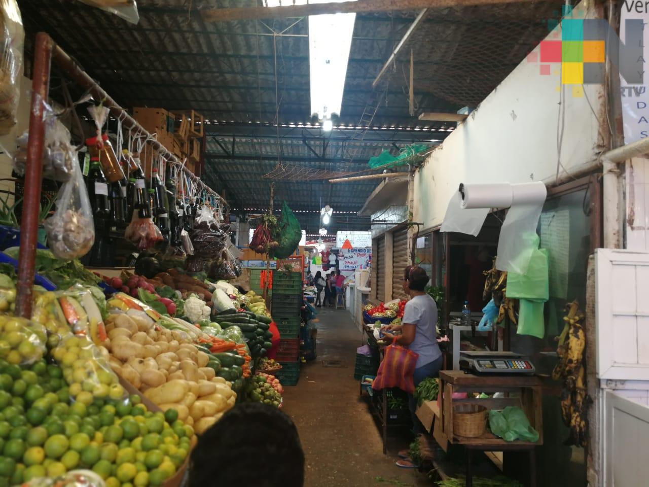 Comerciantes del mercado Puerto México planean instalar cámaras de video