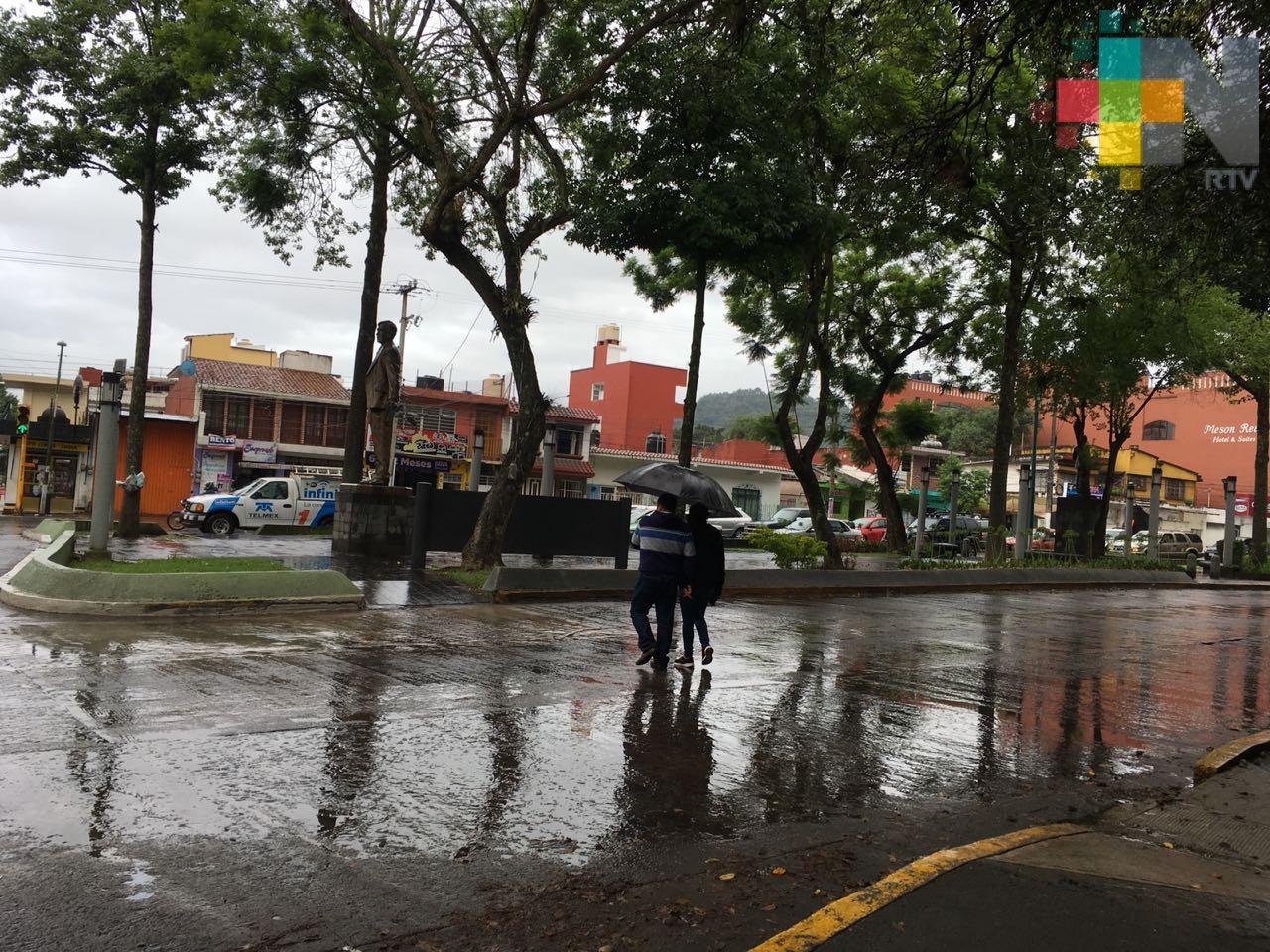 En Veracruz clima caluroso con lluvias en zona norte y montaña