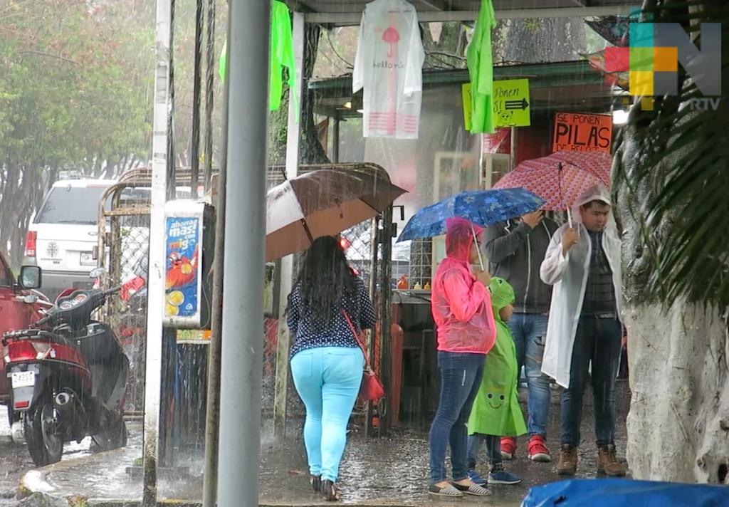 Próximas 72 horas continuarán lluvias en costa norte y zona de montaña de Veracruz