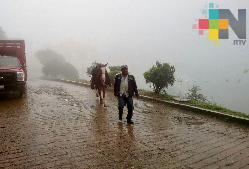 Norte, lluvia fuerte y descenso de temperatura para Veracruz a partir del lunes