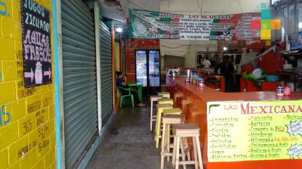 Piden programa de promoción de mercado Ursulo Galván de Coatzacoalcos