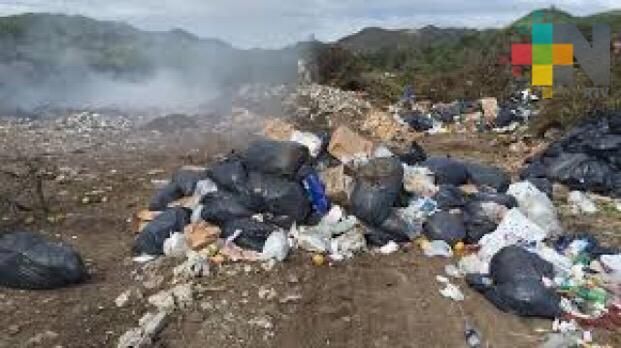 El basurero de Misantla, un constante problema