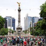 Mexicanos prueban pedacito del paraíso con triunfo del Tri ante Alemania
