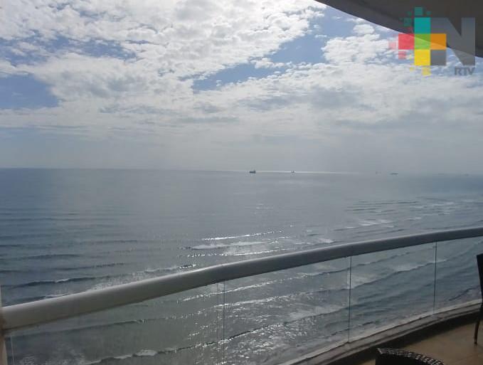 Ambiente cálido y bochornoso especialmente en llanura y costa del estado de Veracruz