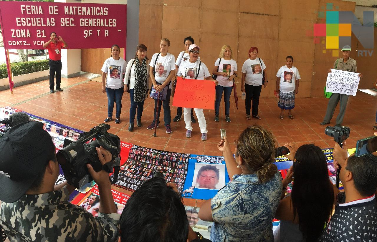 """Colectivo """"Madres en búsqueda"""" piden aplicar todo el peso de la ley a exfuncionarios"""