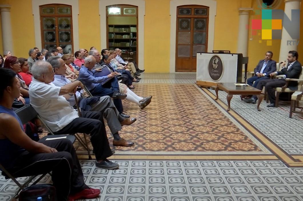 Continúan conferencias sobre la historia de Xalapa
