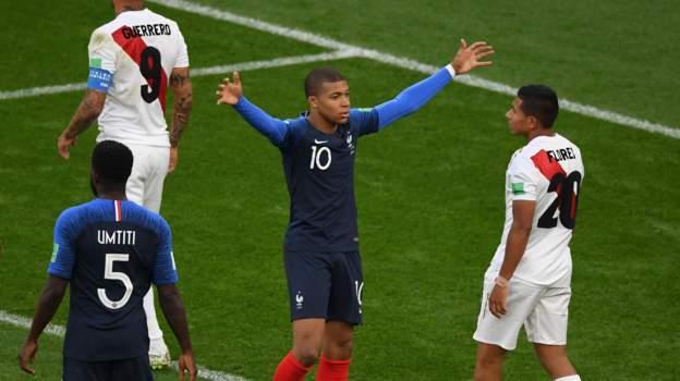 Perú se despide del Mundial pierde 0-1 ante Francia en el Grupo C