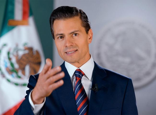 Peña Nieto se congratula por ganar sede compartida del Mundial en 2026