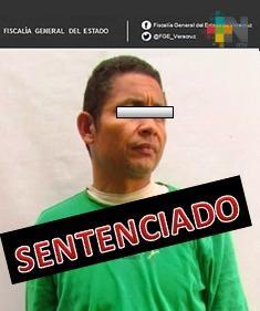 30 años de prisión obtiene Fiscalía Regional contra homicida,  en Poza Rica