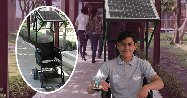Optimizan politécnicos función de las sillas de ruedas eléctricas