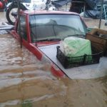 Se vuelven a inundar calles de Xalapa por lluvia