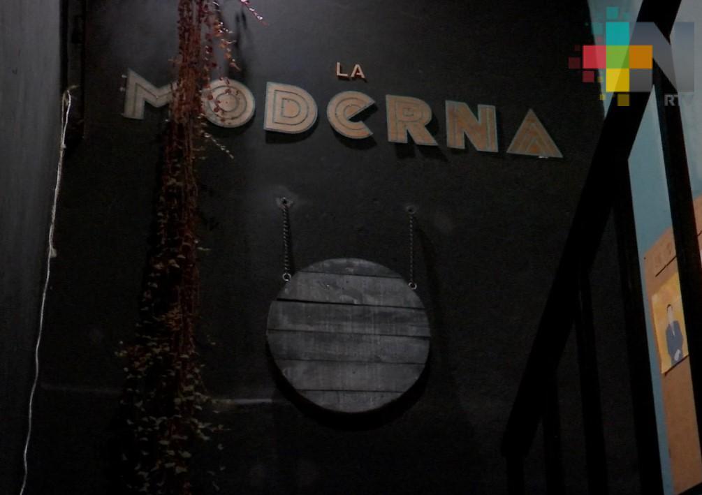 """""""La Moderna"""" espacio cultural alternativo en Xalapa"""