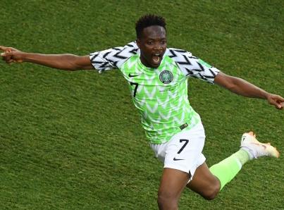 Doblete de Musa le da triunfo a Nigeria y vida a Argentina en Mundial