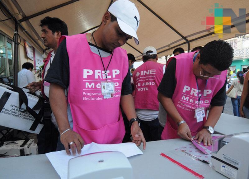 INE Veracruz concluye cómputo de elección de presidente de la República