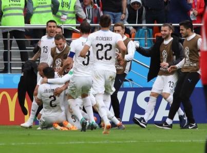 Uruguay va por su boleto a octavos de final ante Arabia Saudita