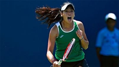 Victoria Rodríguez conquista título de dobles y va a final en singles