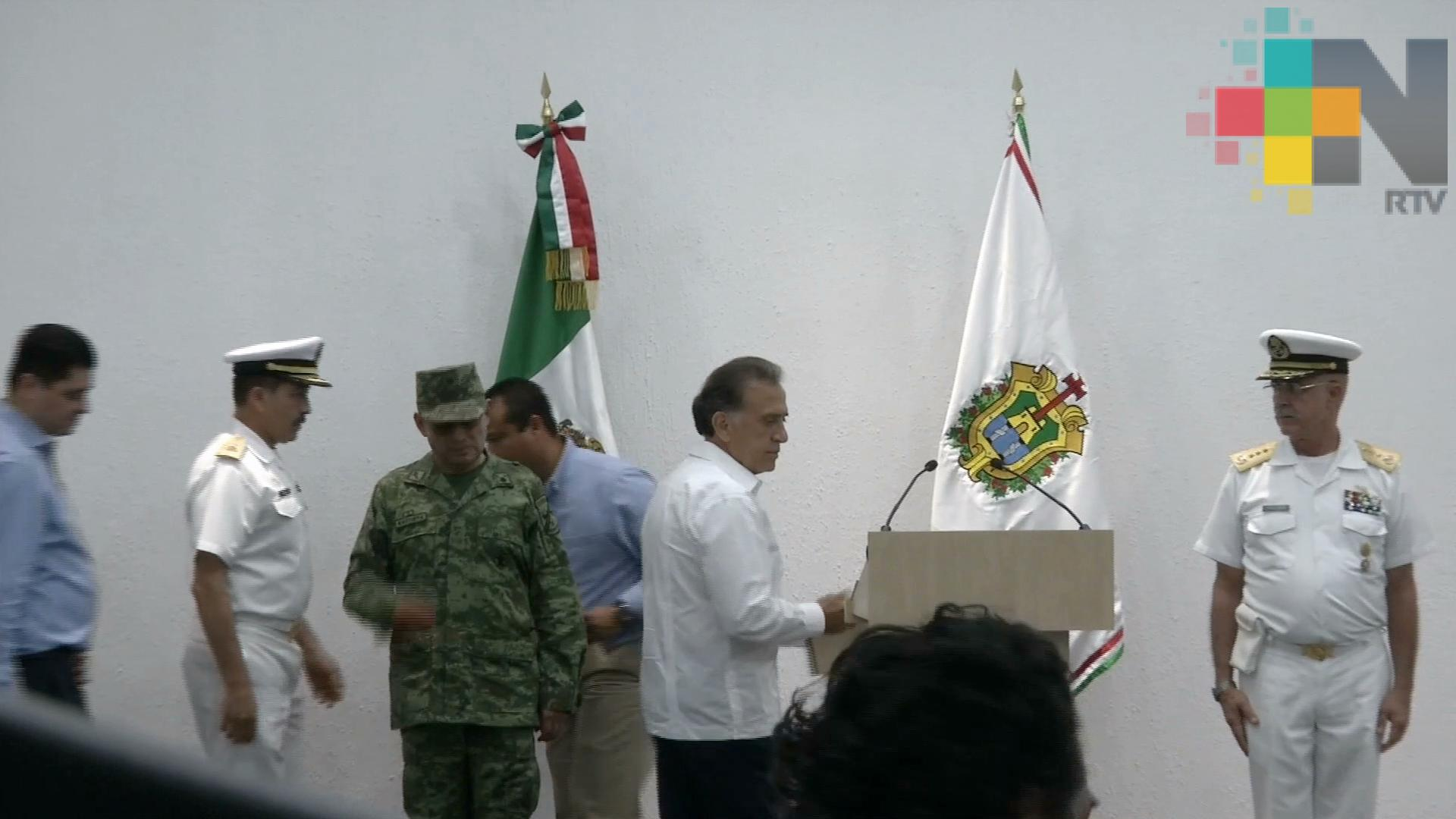 Disminuyen índices delictivos en Veracruz; hubo importantes detenciones esta semana